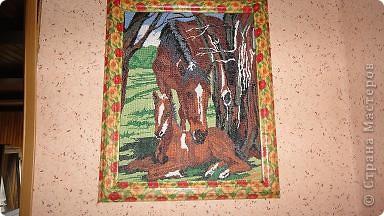 медведи, набор Золотое руно, размер 27х35, 37 цветов, 16 канва  фото 7