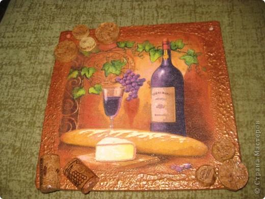 Сделала кухонное панно в подарок фото 4