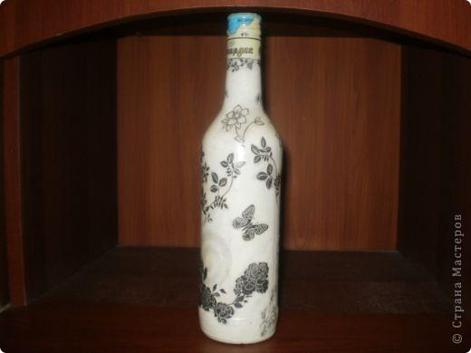 Ну вот она моя первая бутылочка, корявенькая немного. фото 5