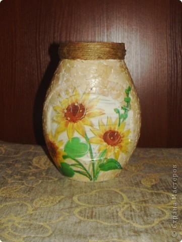 Первая вазочка