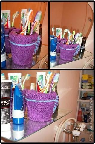 Кружка для зубных щеток