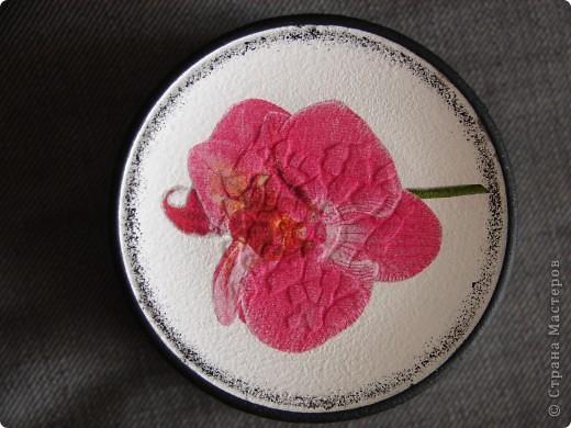 Банка с орхидеями фото 3