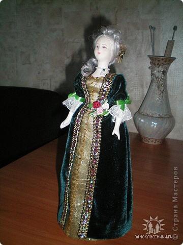 """Голову и ручки этой куклы я лепила из полимерной глины """"Fimo"""" фото 2"""