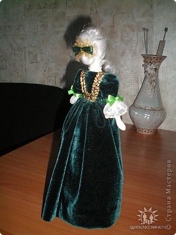 """Голову и ручки этой куклы я лепила из полимерной глины """"Fimo"""" фото 3"""