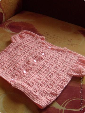 Вязание крючком для доченьки фото 2
