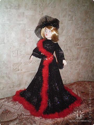 """Голову и ручки этой куклы я лепила из полимерной глины """"Fimo"""" фото 1"""