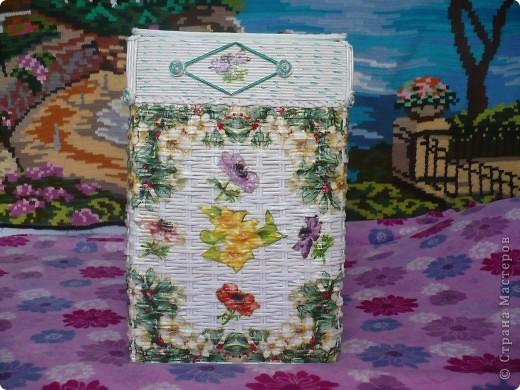 Короб плетённый фото 2