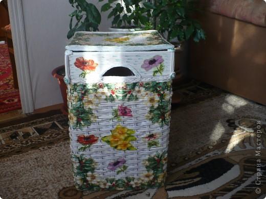Короб плетённый фото 3