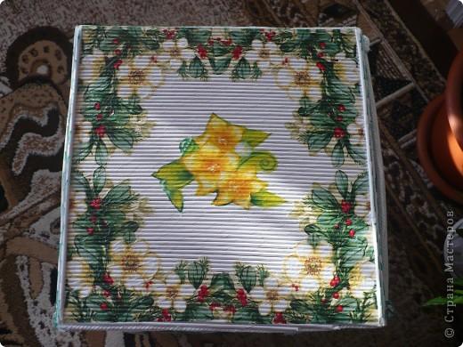 Короб плетённый фото 4