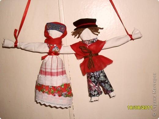 Обережная кукла неразлучники. Увлеклась, сделала одну,теперь не могу остановиться.