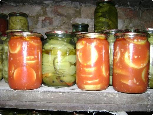 Хочу пр6едложить рецепт заготовки на зиму. Кабачки в томатном соке. фото 2