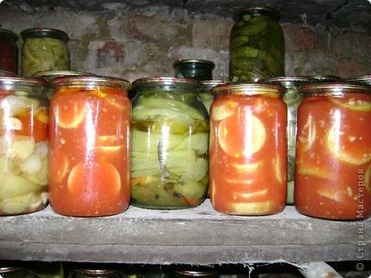 Хочу пр6едложить рецепт заготовки на зиму. Кабачки в томатном соке. фото 1