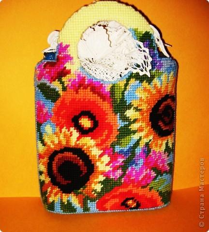 Здравствуйте, милые мастерицы. Давайте попробуем вышить летнюю сумочку «Жанлинн». фото 14