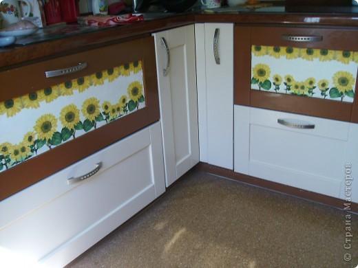 Посмотрела на прекрасное преображение кухни у galinakolina http://stranamasterov.ru/node/223106#comment- 2106082, и решилась тоже немножко украсить свою. Стекло было давно уже треснуто благодаря моему младшенькому...и вот.. фото 4