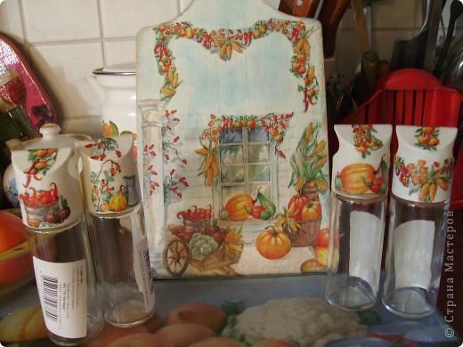 Посмотрела на прекрасное преображение кухни у galinakolina http://stranamasterov.ru/node/223106#comment- 2106082, и решилась тоже немножко украсить свою. Стекло было давно уже треснуто благодаря моему младшенькому...и вот.. фото 5