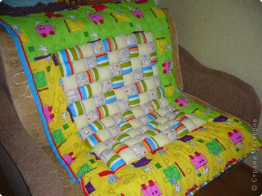 Одеяло из подушечек фото 1