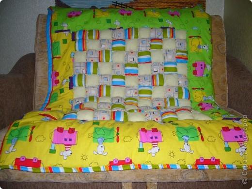 Одеяло из подушечек фото 2