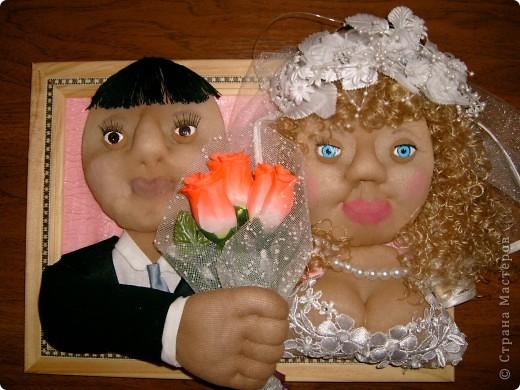 Сделала подарок на свадьбу.Жениху с невестой очень понравилось. фото 1