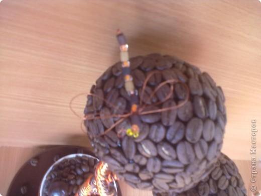 """Вот такое дерево я сделала в кафе """"шоколад"""", под цвет их интерьера, оранжево-шоколадный.за идею стрекозочек и переплетенных стволиков спасибо Светлане Лане. Вот такая вот повторюшка. еще дополнят в кафе 2 деревца только с одним шаром в таком же стиле, пока в процессе. фото 2"""