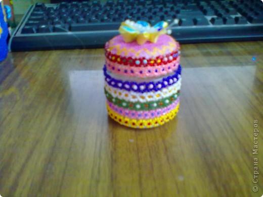 маленькая баночка для маленьких  мелочей фото 1