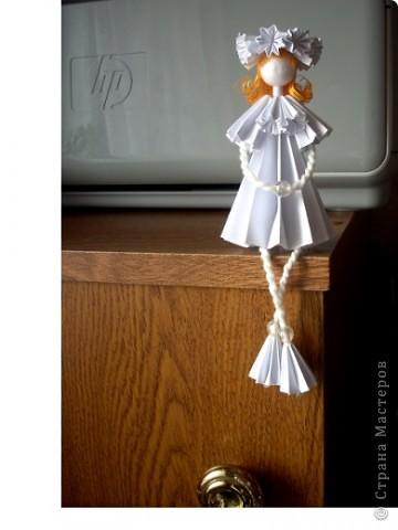У Ирины (Sahalin) в блоге http://stranamasterov.ru/blog/3627  есть замечательные куколки-Аришки. Она научила нас делать их!  Перед вами -  мои Аришки. Они умеют сидеть... фото 4