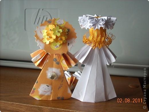 У Ирины (Sahalin) в блоге http://stranamasterov.ru/blog/3627  есть замечательные куколки-Аришки. Она научила нас делать их!  Перед вами -  мои Аришки. Они умеют сидеть... фото 7