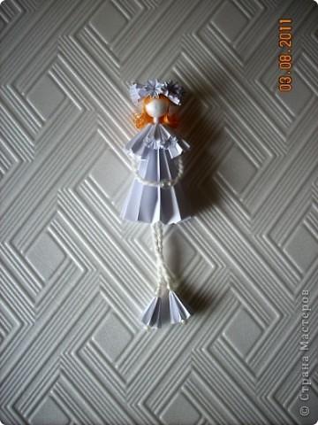 У Ирины (Sahalin) в блоге http://stranamasterov.ru/blog/3627  есть замечательные куколки-Аришки. Она научила нас делать их!  Перед вами -  мои Аришки. Они умеют сидеть... фото 5