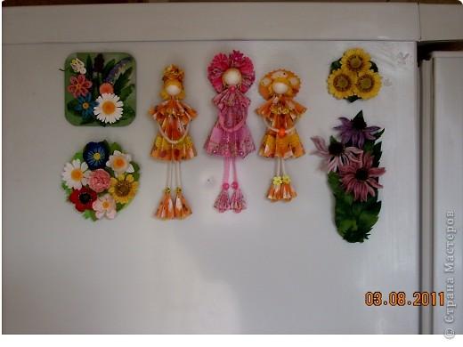 У Ирины (Sahalin) в блоге http://stranamasterov.ru/blog/3627  есть замечательные куколки-Аришки. Она научила нас делать их!  Перед вами -  мои Аришки. Они умеют сидеть... фото 13