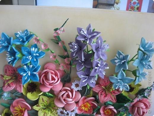 Здравствуйте жители страны. С праздником Вас. В конце лета и я собрала букет из летних цветов. фото 2