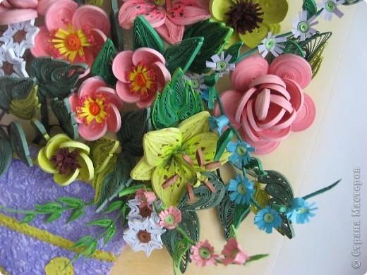 Здравствуйте жители страны. С праздником Вас. В конце лета и я собрала букет из летних цветов. фото 3