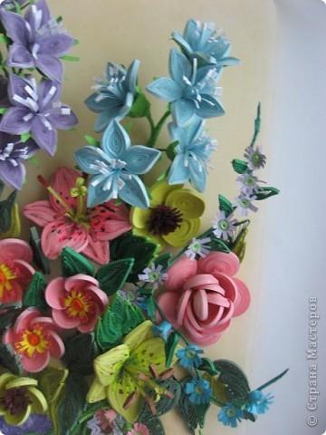 Здравствуйте жители страны. С праздником Вас. В конце лета и я собрала букет из летних цветов. фото 4