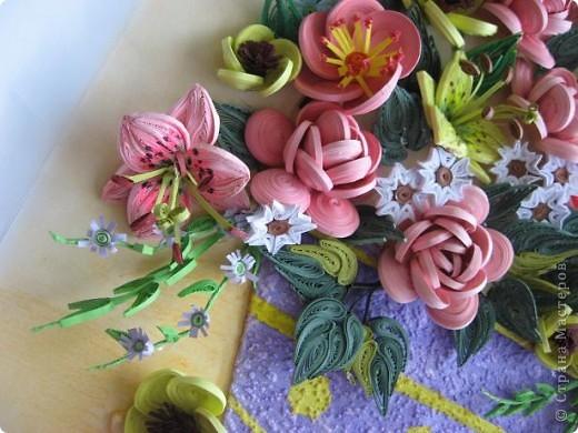 Здравствуйте жители страны. С праздником Вас. В конце лета и я собрала букет из летних цветов. фото 5