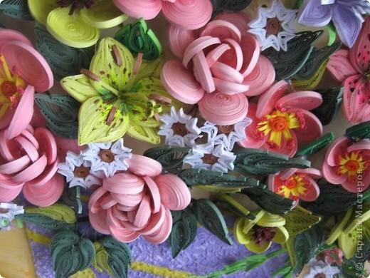 Здравствуйте жители страны. С праздником Вас. В конце лета и я собрала букет из летних цветов. фото 7