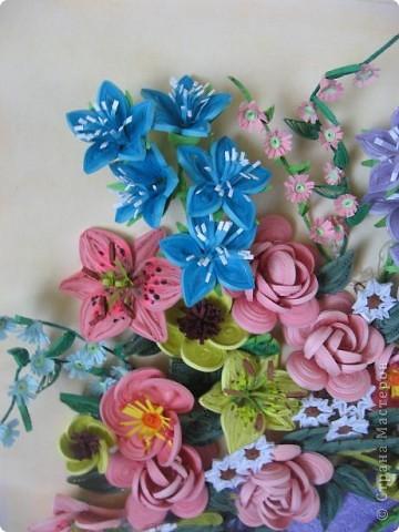 Здравствуйте жители страны. С праздником Вас. В конце лета и я собрала букет из летних цветов. фото 6