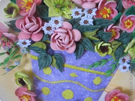 Здравствуйте жители страны. С праздником Вас. В конце лета и я собрала букет из летних цветов. фото 8