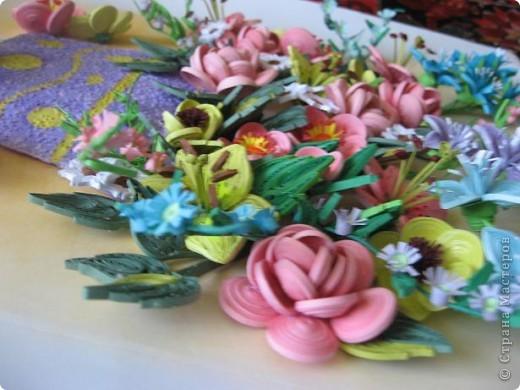 Здравствуйте жители страны. С праздником Вас. В конце лета и я собрала букет из летних цветов. фото 9