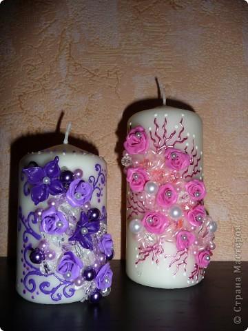 Свадебные свечи...Семейный очаг фото 1
