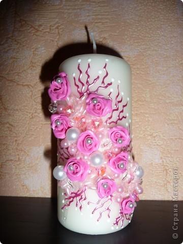 Свадебные свечи...Семейный очаг фото 4