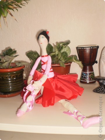 Балерина тильда фото 1