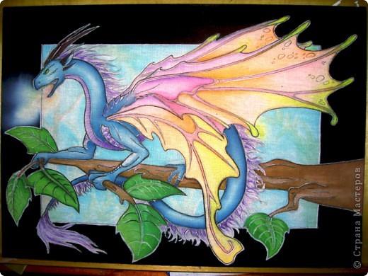 Батик Дракон фото 1