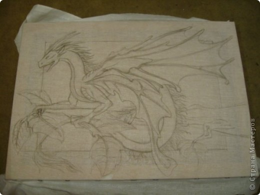 Батик Дракон фото 2