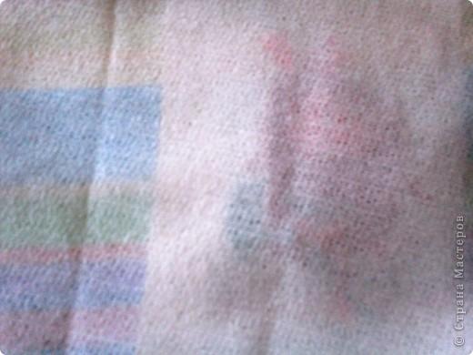Хочу поделиться давней находкой, как оформить изнаночную сторону вышивки. Это яблоко вышито для игры по скетчу. фото 2