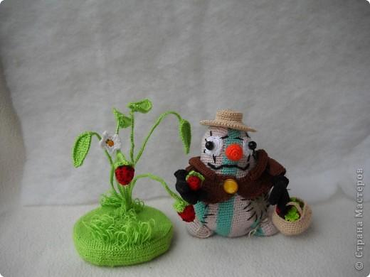 """Это мой """"Ванятка"""", Вязала на очередной конкурс """"Во саду ли, в огороде!"""" фото 1"""