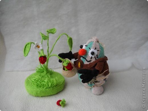 """Это мой """"Ванятка"""", Вязала на очередной конкурс """"Во саду ли, в огороде!"""" фото 2"""