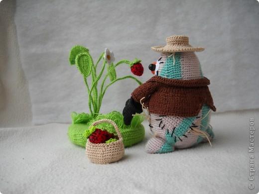 """Это мой """"Ванятка"""", Вязала на очередной конкурс """"Во саду ли, в огороде!"""" фото 3"""