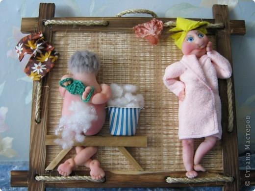 Панно из кукол своими руками 38