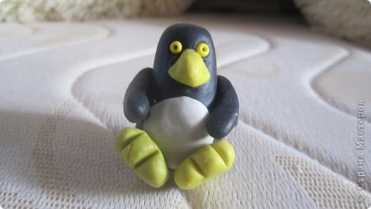 пингвин...мы с дочей лепили. фото 1