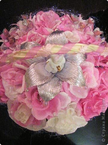 Корзина сладких цветов фото 2
