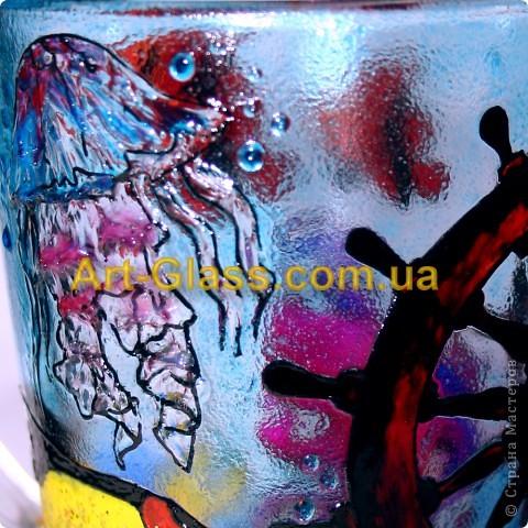 Вот еще одна моя чашечка, одна из любимых. Тут очень много использовано текстурных паст, которые создают разные обьемные стили.   фото 3