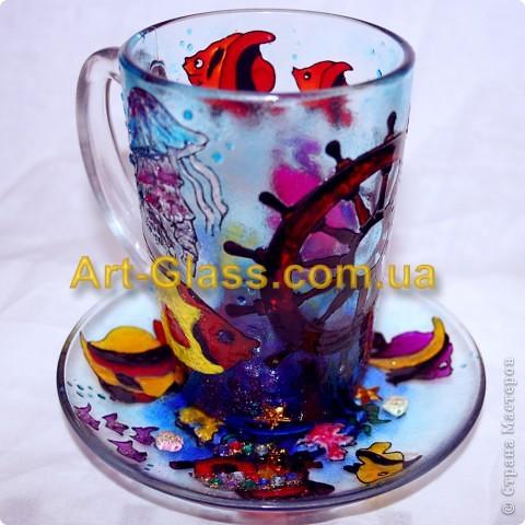 Вот еще одна моя чашечка, одна из любимых. Тут очень много использовано текстурных паст, которые создают разные обьемные стили.   фото 1